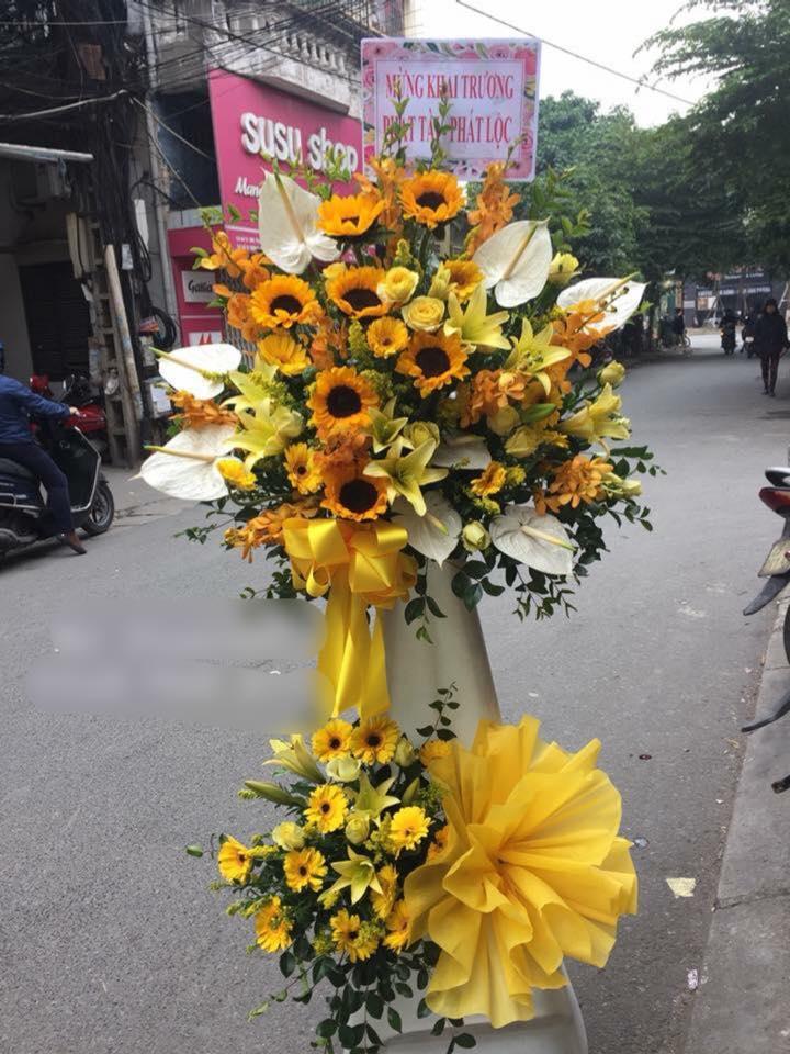 Shop hoa khai trương Tân Châu