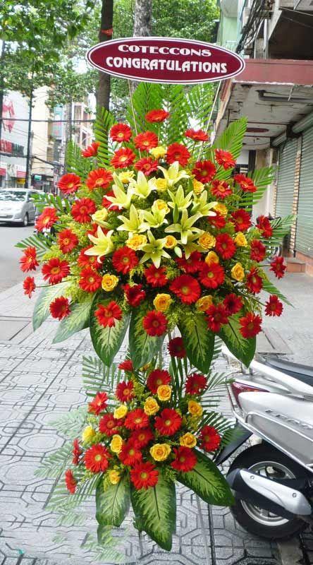 Shop hoa khai trương Châu Thành